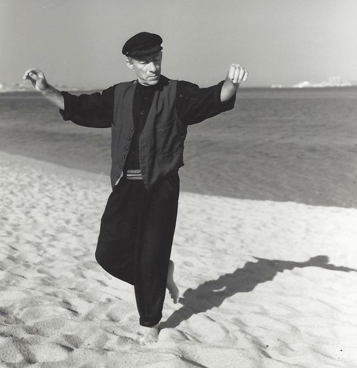 The late Vassilis Giakoumis (Vassilis the dancer of Paros). Like a modern day Zorba...