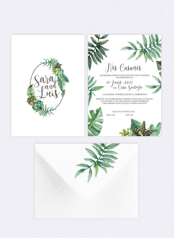 Invitación de boda, wedding invitation