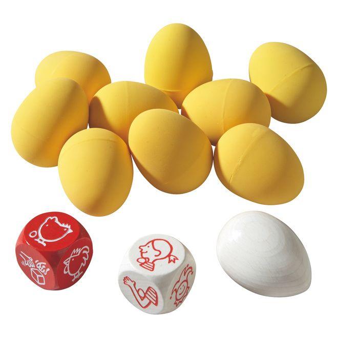 """eierdans ei houden: kin, gebogen arm, benen, nek en schouder, zelf kiezen. ei nemen: kip+ei- """"tok, tok, toook"""" roepen; ei(enkel de gele)- iets boven de grond houden en de andere moeten het proberen te vangen.; dobbelsteen- neem zo snel mogelijk de dobbelsteen en dan mag je een ei nemen.; tafel- iedereen moet ronde de tafel stappen en wie als eerste terug zit mag een ei nemen.; kakelende kip- """"kukelekuuuu"""" roepen om ter eerste.; kip- geen """"kukelekuuuu"""" roepen anders moet je een ei afgeven."""