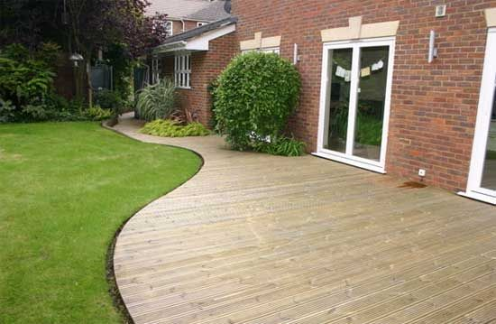 Flat deck design ideas google search deck ideas for Garden decking ideas pinterest