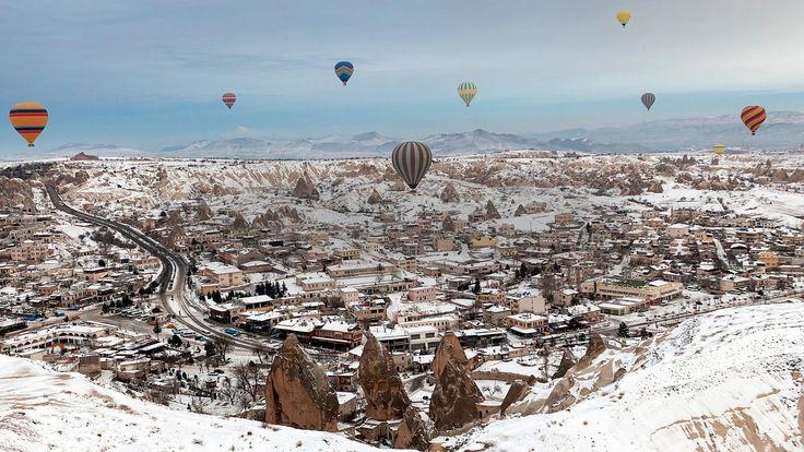 Balloon rides in Turkey