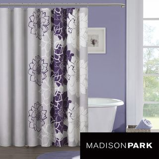 Madison Park Bridgette Sateen Printed Shower Curtain | Overstock.com Shopping - Great Deals on Madison Park Shower Curtains