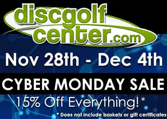 Disc Golf Center Cyber Monday Sale