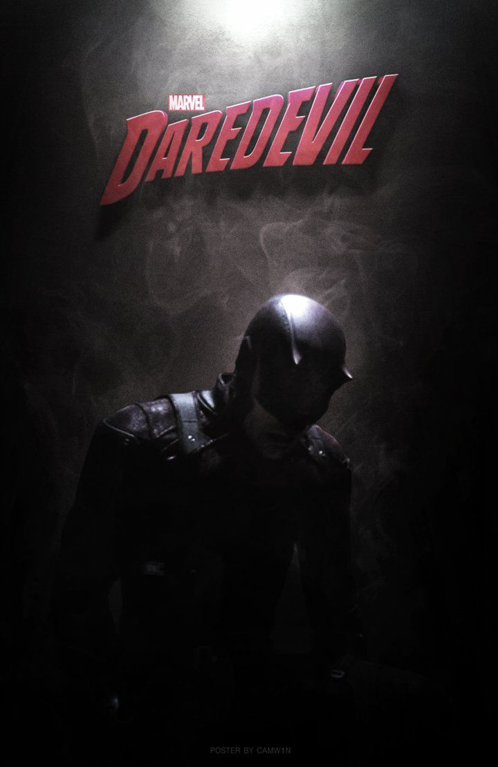 Daredevil (2015) - Poster Version 2 by CAMW1N on DeviantArt