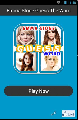 Emma Stone Guess The Word Game is very addictive game. There are 4 pictures each level that u should guess what is the word. U will find that this is very enjoyable. Challenge your knowledge about Emma Stone's life. We all know that Emma Stone is an awesome lady, a fantastic artist, and of course beautiful. Especially when she take a rule as a gwen Stacy in The Amazing of Spiderman. I'm the one of the thousands Emma Stone's Fans, if u are the number one fans, u should download and play this…
