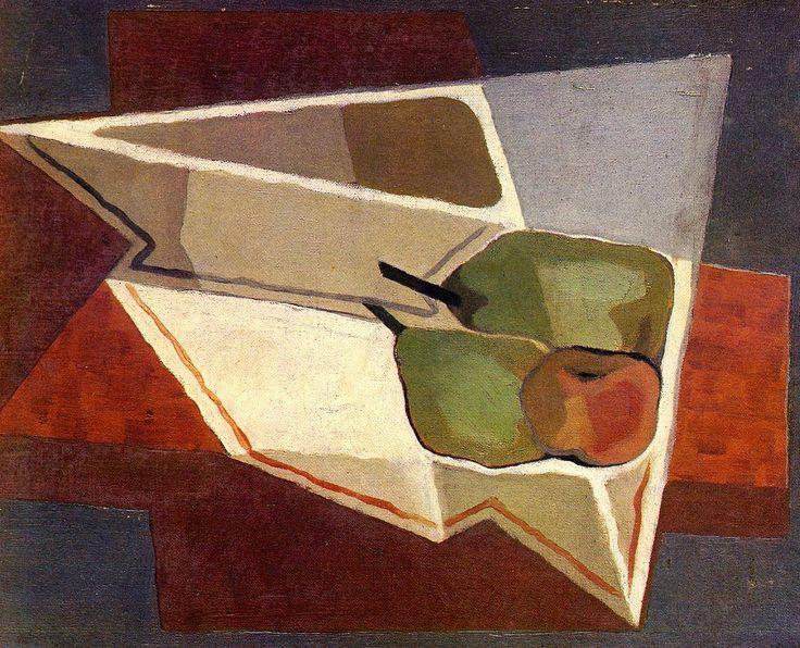 Juan Gris - Fruit with Bowl, 1926