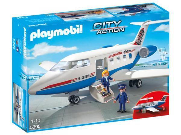 Playmobil - Avion #jeux #jouet #puériculture #bebe #bébé #maternité #listedenaissance #naissance #cadeaunaissance #cadeau #futuremaman #grossesse #enceinte #chambreenfant #chambrebebe #playmobil #enfant #famille