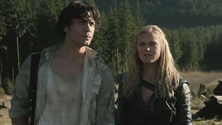 Bellamy Blake and Clarke Griffin || The 100 season 2 episode 16 - Blood must have blood pt 2 || Eliza Jane Taylor and Bob Morley || Bellarke