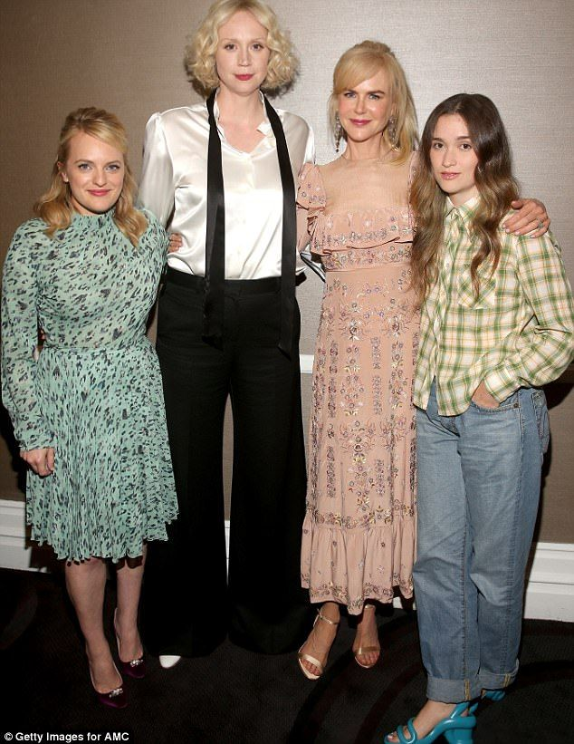Fantastic four: The Top Of The Lake: China Girl cast looked stylish as they posed for a sn...
