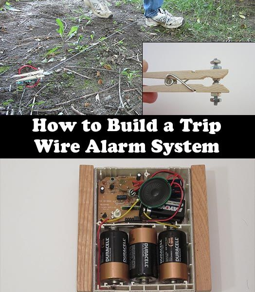 how to build a tripwire