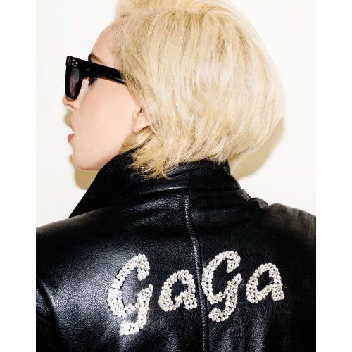 The short, blonde, 90s rebel look #LadyGaGa #hair