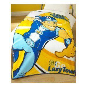 Lazy Town Sportacus Blanket Bedding