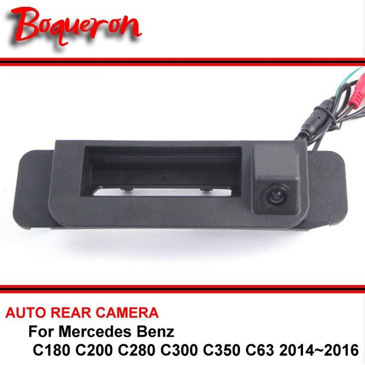 For Mercedes Benz C180 C200 C280 C300 C350 C63 14~16 Reversing Rear View Camera Car Back up Parking Camera HD CCD Trunk handle