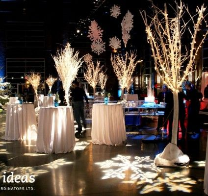 Winter wonderland bright ideas events portfolio event for Decor company