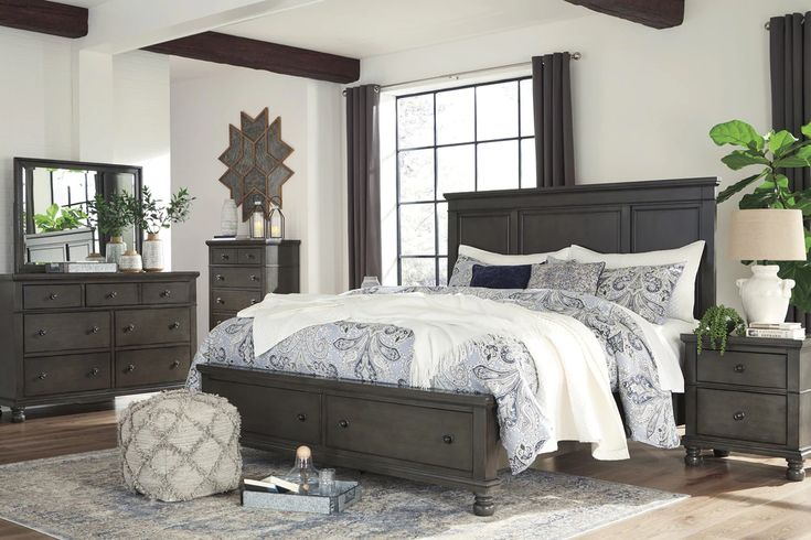 the devensted storage bedroom collection | distressed