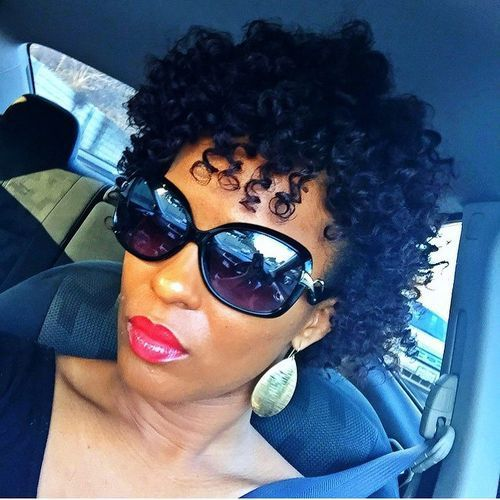 Excellent 1000 Ideas About Short Natural Hairstyles On Pinterest Big Chop Hairstyles For Women Draintrainus
