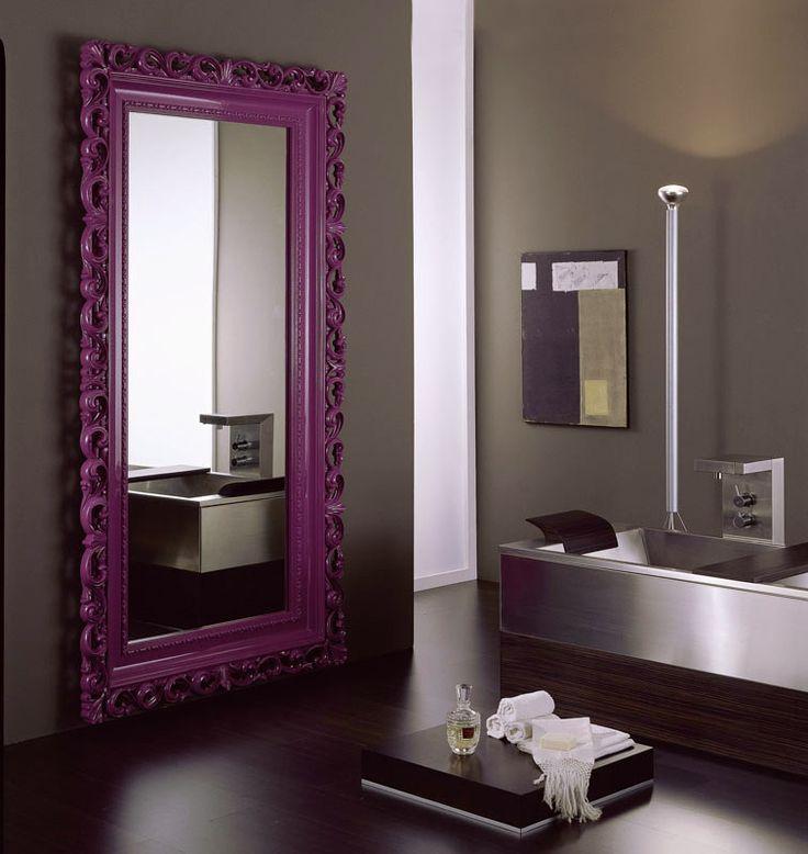 17 best images about mirror by vismara design on pinterest for Baroque bathroom mirror
