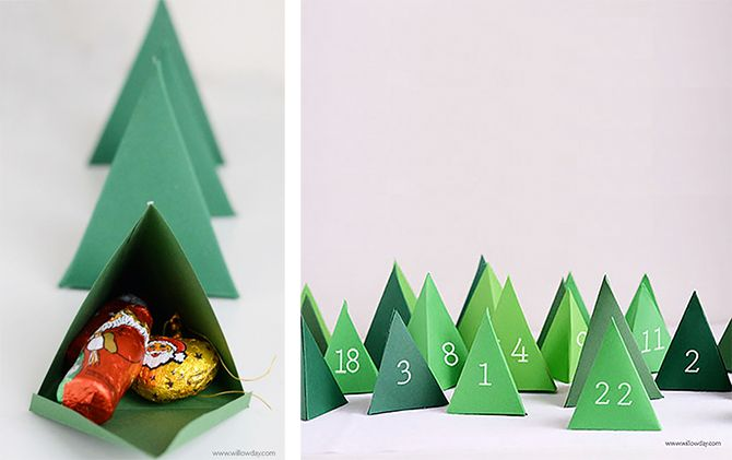HomePersonalShopper. Blog decoración e ideas fáciles para tu casa. Inspiraciones y asesoría online. : IMPRIMIBLES GRATIS | 5 Calendarios de adviento para hacer uno mismo en casa
