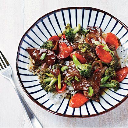 Beef and Broccoli Bowl Recipe | MyRecipes
