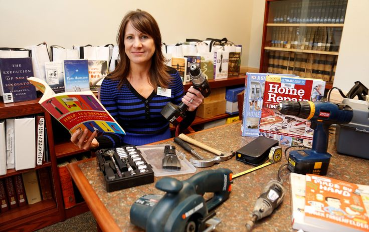 The small Pine River Library in Bayfield, Colorado has started up an innovative tool lending library which everyone likes!
