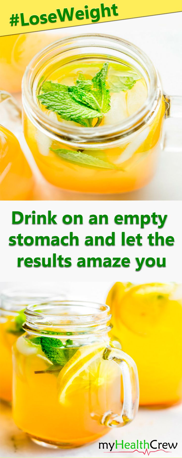 Now It's Yours! Drink every morning on an empty stomach and let the results amaze you