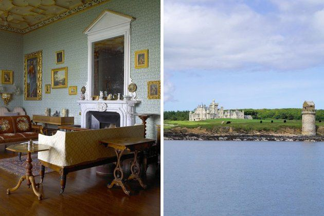 Balfour Castle in Shapinsay, Scotland can be rented for a mere $42,103 a week