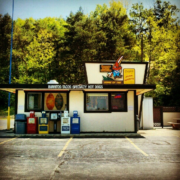 The one & only Butch's Beach Burritos #GrandHaven #Michigan