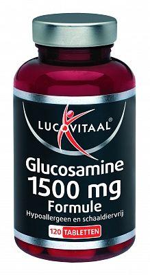 Lucovitaal Glucosamine 1500 mg Formule 1 1 GRATIS 60   60 tabletten - Glucosamine 1500mg 60 tabletten van Lucovitaal nu tijdens dit jubileum 1 1 GRATIS!