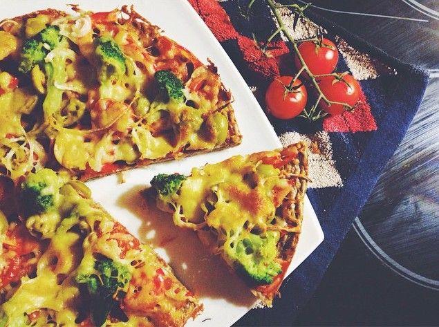 ПП пицца - простой и вкусный рецепт