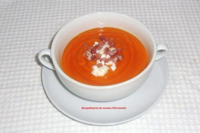 Recopilatorio de recetas : Salmorejo cordobés con thermomix