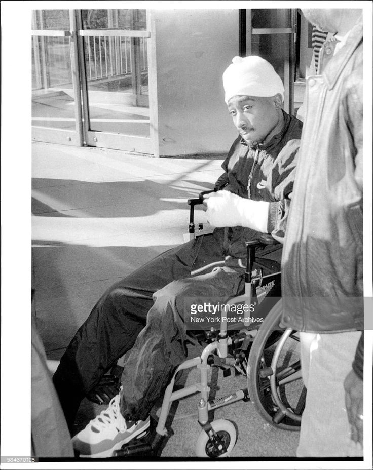Tupac Shakur. December 01, 1994. (Photo by Charles Wenzelberg / (c) NYP Holdings, Inc. via Getty Images)