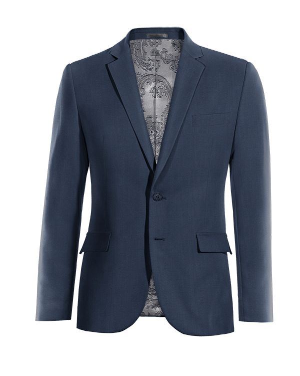 Blue wool Blazer http://www.tailor4less.com/en/men/blazers/3998-blue-wool-blazer