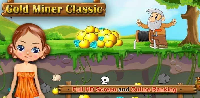 Gold Miner Classic HD v1.2 - Frenzy ANDROID