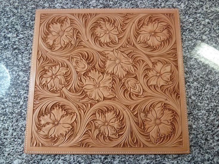 Leather carving craft pinterest
