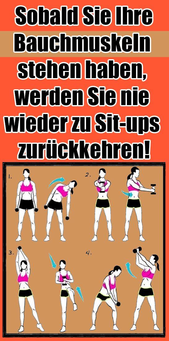 Sobald Sie Ihre Bauchmuskeln stehen haben, werden Sie nie wieder zu Sit-ups zurückkehren