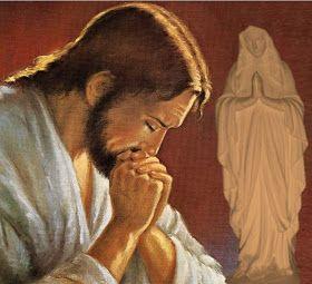 Questa preghiera dev'essere recitata per chiedere il dono una grazia; ricordiamoci che stiamo per entrare in contatto con nostro Signore e che la migliore devozione è il silenzio.