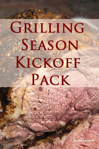 Grilling Season Kickoff Pack.  Are you ready for summer?  Cajun, Mediterranea Rub, Montreal Style, Sarah's Chicken, St. Louis Rib Rub, and Sweet and Savory Rub #spiceegourmet