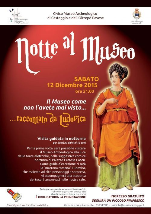 Notte al Museo - Paviatourism