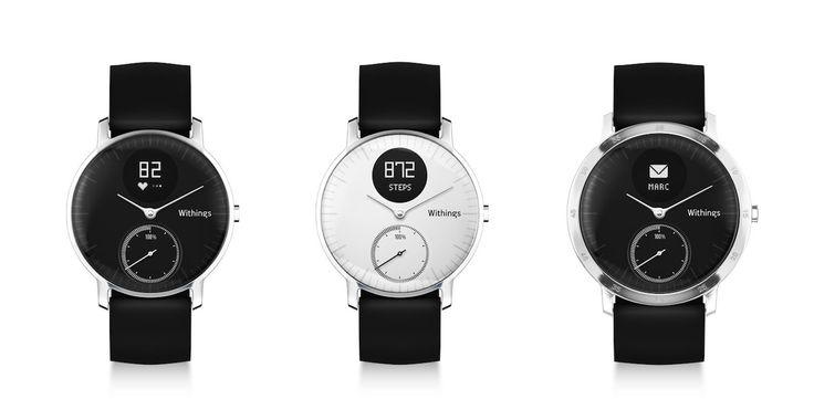 Withings lanseaza primul ceas ce senzor optic pentru puls