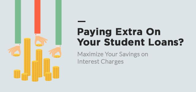 Are you making extra student loan payments? Make sure your student loan payments are applied correctly so you save money on interest and pay off principal.