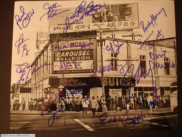 The legendary Filmore West, San Francisco
