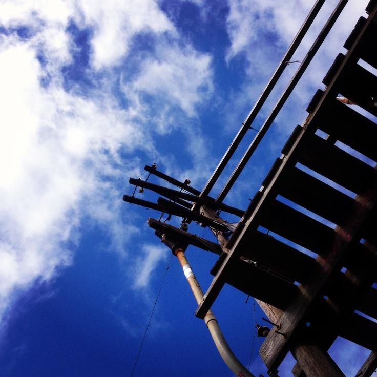 Sky from the top of Koko Head
