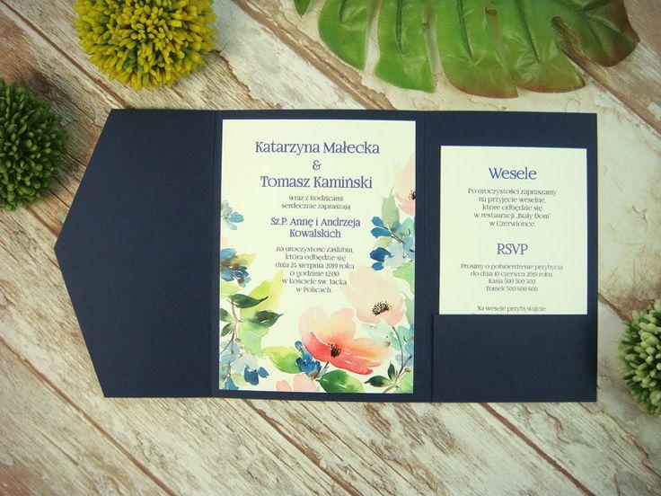 zaproszenie ślubne w folderze Gk3