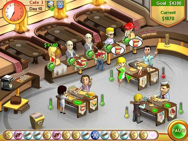 Amelie's Cafe Game Screenshots
