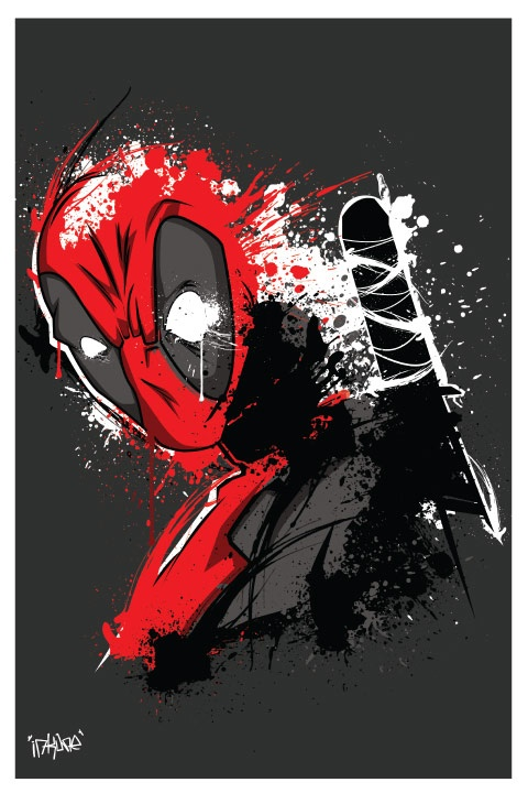 Favorite Comic Book Character EVER!  DeadpoolDeadpool Merc, Favorite Comics, Comics Book, 4Th Wall, Wade Wilsondeadpool, Shirtpunch Today, Marvel Comics, Comics Heroes, Wall Tshirt