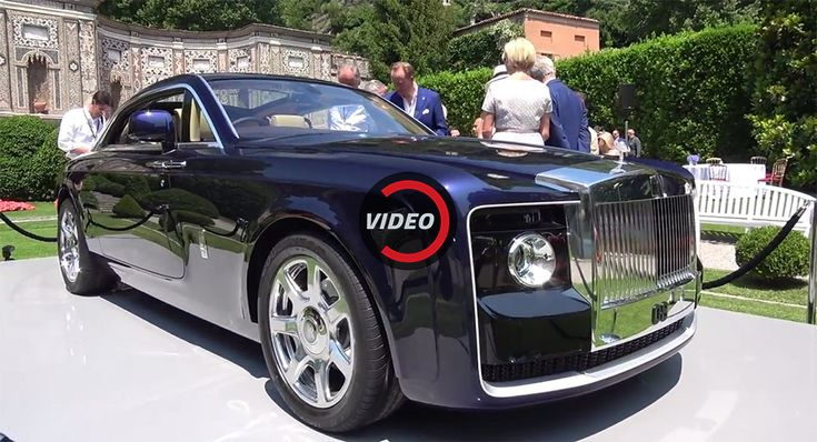 $13 Million Rolls-Royce Sweptail May Be Most Expensive New Car Ever