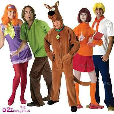 #Adult scooby doo cartoon #licensed mens ladies #halloween fancy dress costume wi, View more on the LINK: http://www.zeppy.io/product/gb/2/111655643050/