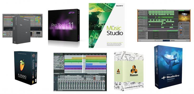 Best music production software aka Digital Audio Workstations