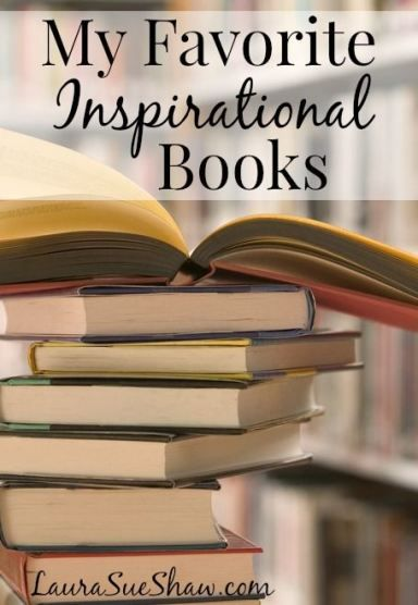 Here is a list of some of my favorite inspirational books. I try to read several each year and these are the ones that I recommend the most! So if you're looking for some encouraging reads, this list is the place to start.