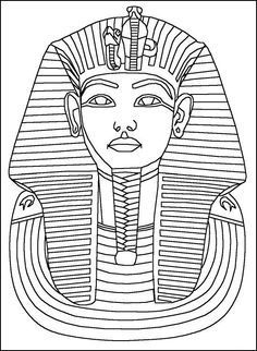 11 best egypt images on Pinterest  Coloring sheets Adult